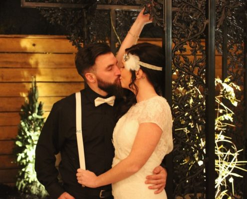 Columbus Wedding Venue Couple